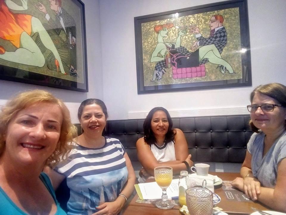 Primeira reunião para tratativas da Feira do Livro de Joinville que será em junho de2019.